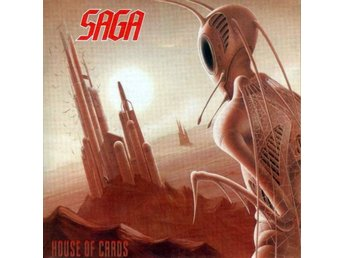 Saga - House Of Cards (2001) CD, Steamhammer SPV 085-72162 CD, New/Sealed - Ekerö - Saga - House Of Cards (2001) CD, Steamhammer SPV 085-72162 CD, New/Sealed - Ekerö