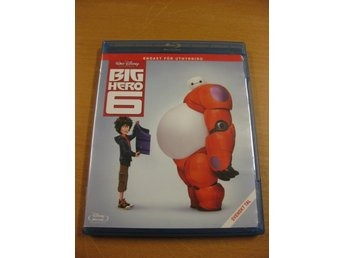 BIG HERO 6 - WALT DISNEY KLASSIKER NR 53 - BLU-RAY - Hörby - BIG HERO 6 - WALT DISNEY KLASSIKER NR 53 - BLU-RAY - Hörby