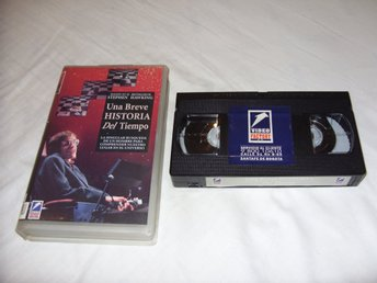 Stephen Hawking A Brief History of Time VHS PAL Spansk utgåva