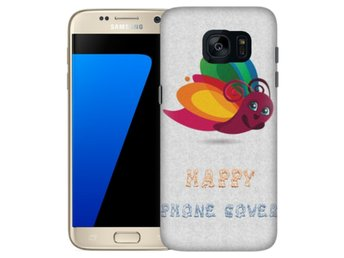 Samsung Galaxy S7 Skal Happy Phone Cover