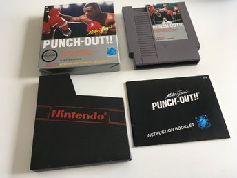 Mike Tyson´s Punch-Out SCN KOMPLETT Ink AKRYLBOX EXTREMT FINT SKICK