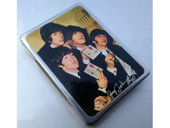 Cigarettetteui The Beatles troligen 1968
