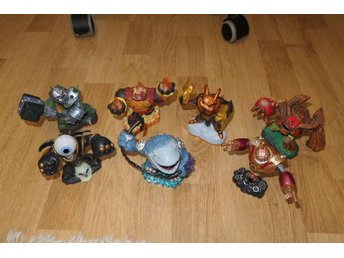 Skylanders 7st stora GIANTS figurer