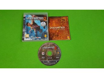 Uncharted 2 Among Thieves SVENSK UTGÅVA KOMPLETT Ps3 Playstation 3