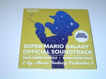 Super Mario Galaxy Original Soundtrack Musik Nintendo *NYTT*