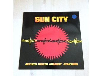 SUN CITY - ARTISTS UNITED AGAINST APARTHEID. (NEAR MINT LP)