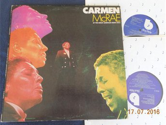 CARMEN McRAE - At The Great American Music Hall, 2LP Blue Note USA - Gävle - CARMEN McRAE - At The Great American Music Hall, 2LP Blue Note USA - Gävle