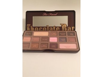Too Faced Chocolate Bar palett, ögonskugga, makeup