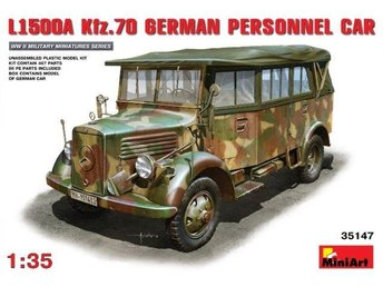 Miniart 1/35 L1500A (Kfz.70) German Personnel Car