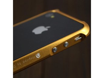 Demolition (Gyllene) iPhone 4 Aluminium-Bumper