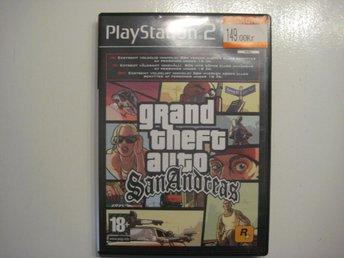 GTA Grand theft auto San Andreas - PS2 - åhus - GTA Grand theft auto San Andreas - PS2 - åhus
