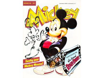Mickey Maandblad nr 11 1988 / Holland / NM / nyskick