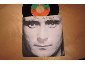 "Phil Collins singel ""In The Air Tonight-The Roof is Leaking"" 1981"