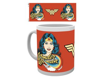 DC Comics - Wonder Woman Face - Mugg