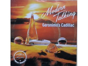 "Modern Talking title* Geronimo's Cadillac* Synth-pop 7"" Scandinavia"