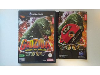 Nintendo GameCube: Godzilla: Destroy All Monsters Melee