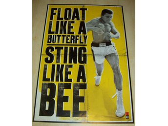 Muhammad ALI (poster, affisch) Boxning Sting like a BEE