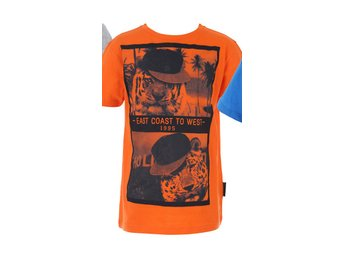 Orange t-shirt  tiger 122/128