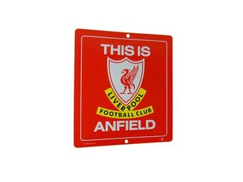 Liverpool skylt This is Anfield Liten