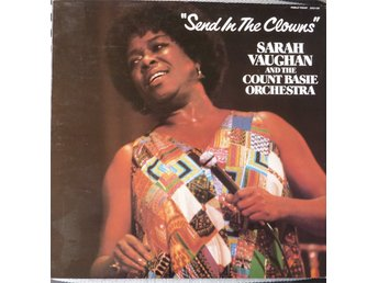 LP - Vinyl - Sarah Vaughan&The Count Basie Orchest  - Send In The Clowns -1981