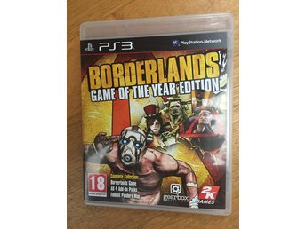 Playstation 3 - Borderlands Game of the year edition