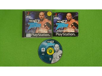 WCW nWo THUNDER KOMPLETT Playstation ps1