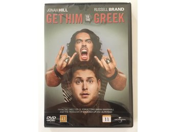 NY - Get him to the Greek (DVD) - Russel Brand Jonah Hill