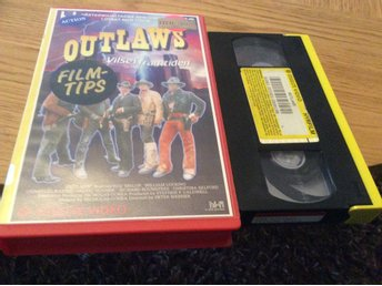 OUTLAWS HYRVHS ESSELTE VIDEO Rod Taylor,William Lucking,Patric Houser mm