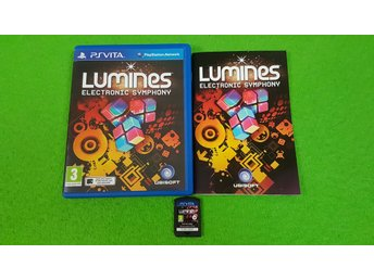 PS Vita Lumines Electronic Symphony Playstation Vita