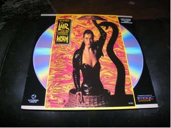 The lair of the white worm  - 1st  Laserdisc