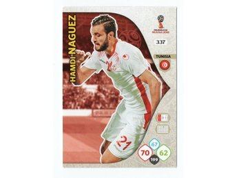 2018 Panini Adrenalyn XL FIFA World Cup Russia Hamdi Naguez