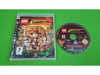 Lego Indiana Jones The Original Adventure Ps3 Playstation 3