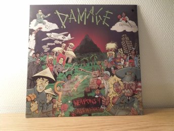 "Damage LP ""Weapon of...."" Hardcore punk"