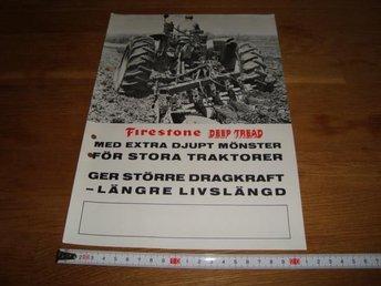 Firestone traktor däck traktor broschyr - Uppsala - Firestone traktor däck traktor broschyr - Uppsala