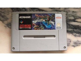 Turtles 4 Turtles in time SNES