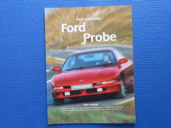 Reklambroschyr Ford Probe