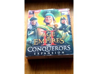 Age of Empires Conquerors Expansion pc big box
