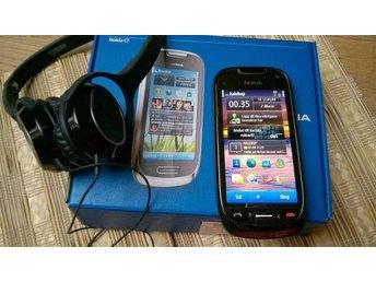 NOKIA C7 i mycket fint skick Symbian 3 Smidigt Nokia headset - Nacka - NOKIA C7 i mycket fint skick Symbian 3 Smidigt Nokia headset - Nacka