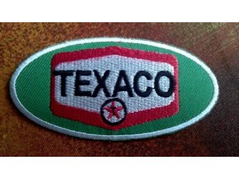 TEXACO Gas Petrol Station Bensin Garage Service Patch USA Hwy Route 66