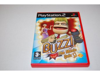 Buzz the music quiz PS2