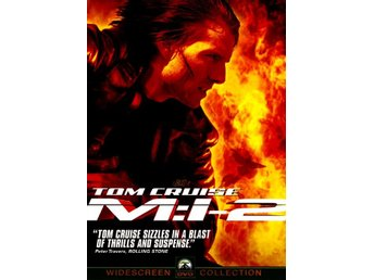 Mission: Impossible 2 00 John Woo med Tom Cruise FIN DVD OOP