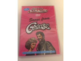Star Trax dvd Songs from Grease