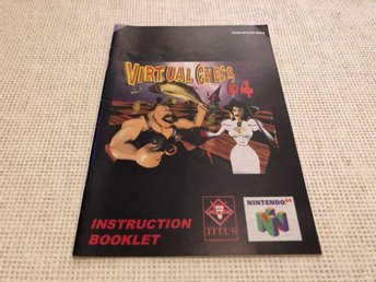 Virtual Chess 64 - N64 manual