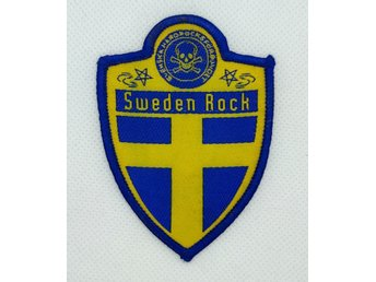 SWEDEN ROCK - PATCH (TYG)