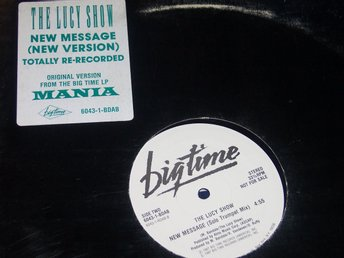 "LUCY SHOW THE - NEW MESSAGE 12"" 1987 PROMO MANIA"