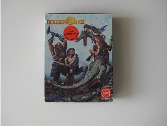 Golden Axe ( C64 - Commodore 64 - Datasette - Komplett )