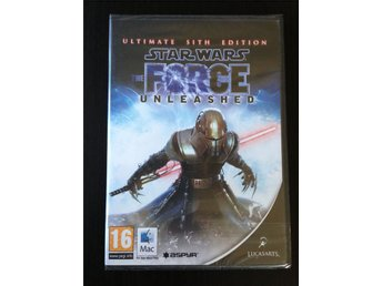 Star Wars The Force Unleashed Ultimate Sith Edition till Apple Mac - inplastad