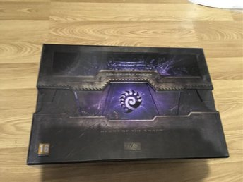 Star Craft Hearth of the Swarm Collectors Edition