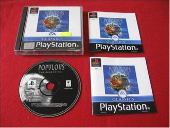 POPULOUS THE BEGINNING till Sony Playstation PSone
