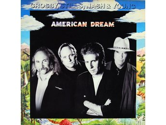 LP Crosby, Stills, Nash and Young American Dream